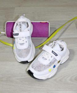 кроссовки детские сетка белые 1004201 1004201 фотография