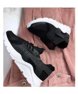 кроссовки хуарачи 110219 черные 110219 фотография