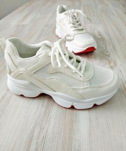 кроссовки сетка белые 10720 10720 фотография