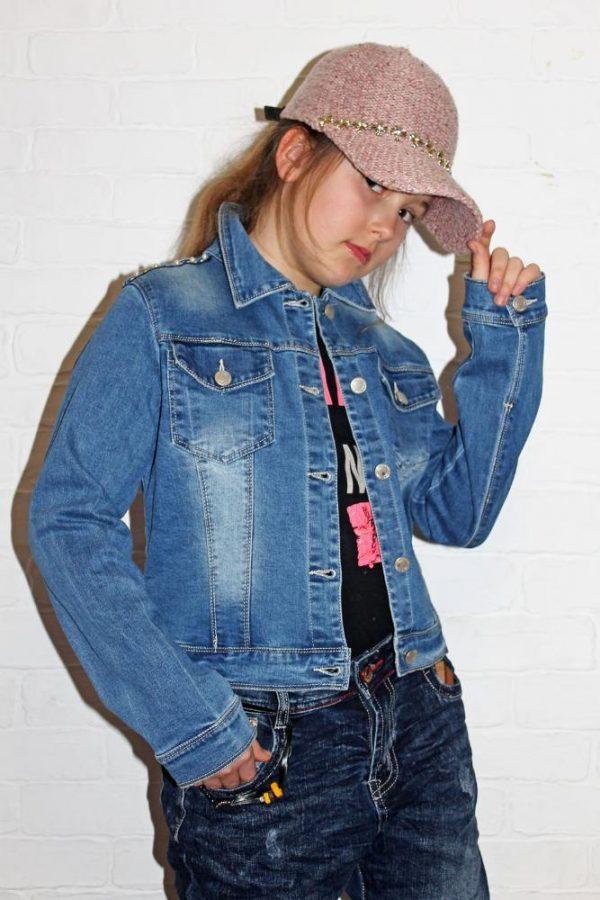 куртка джинсовая классика 8048 8048 фотография
