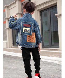 куртка на мальчика джинсовая фила 418843 фотография