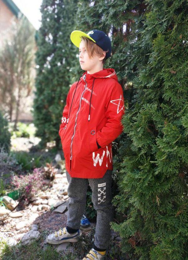 куртка на мальчика подростка звезда кирпичная 1805 1805 фотография