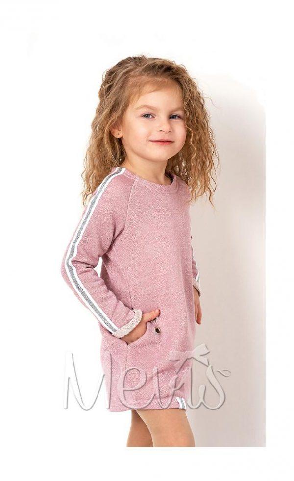 платье туника на девочку розовое 2680 фотография
