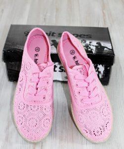 туфли летние ажурные сабо розовые 174057 174057 фотография