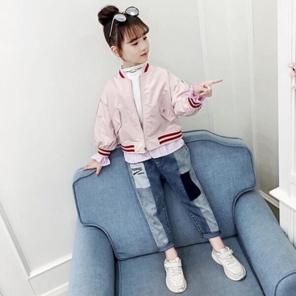 ветровка на девочку розовая club 290420 290420 фотография