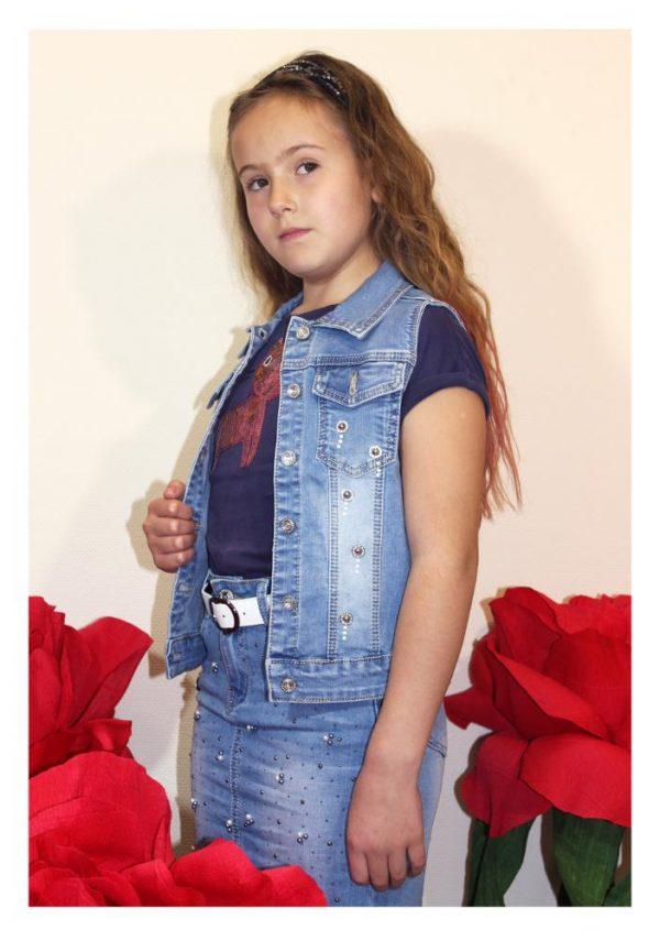 жилетка джинсовая на девочку гуччи 3721 фотография