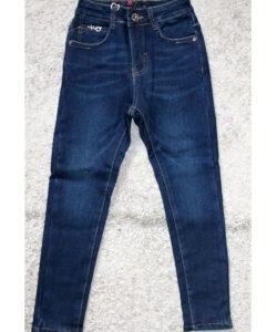 джинсы на флисе для девочки подростка синие 1125 1125 фотография