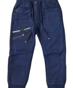 штаны теплые для мальчика на манжете, 110-140 82828 фотография