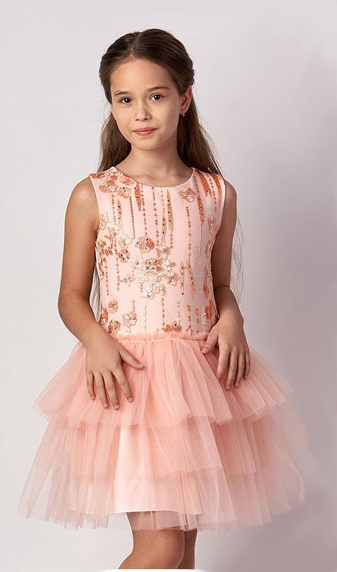 праздничное платье для девочки карамелька 3314 фотография