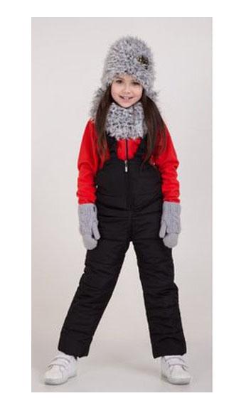 полукомбинезон зимний на девочку 71120 фотография