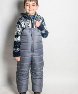 полукомбинезон зимний на мальчика 71121 фотография