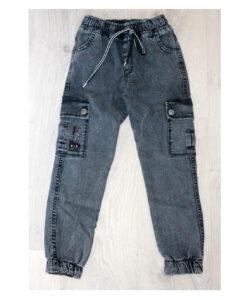 штаны джогерыдля мальчика подростка серые 190221 190221 фотография