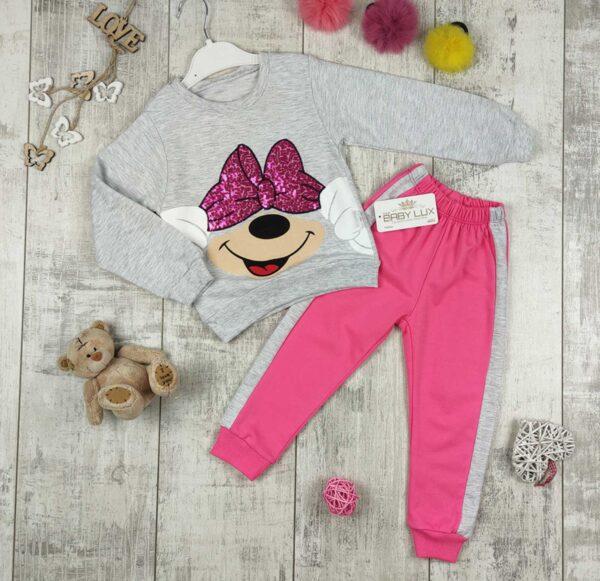 спортивный костюм для девочки минни маус 902212 902212 фотография