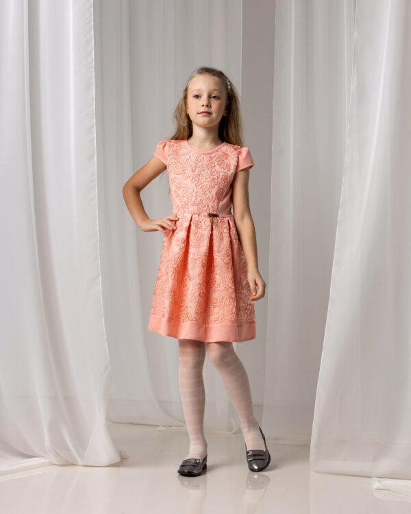 платье нарядное для девочки подростка узор 180221 180221 фотография