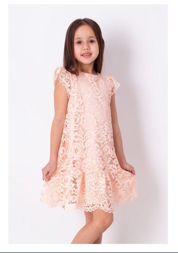 платье для девочки нежное кружево розовое 3862 3862 фотография