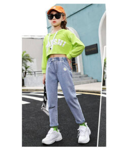 джинсы момы на девочку ромашка 10421 10421 фотография