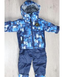 костюм на мальчика весна-осень с комбинезоном 220321 220321 фотография