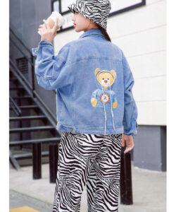 куртка на девочку джинсовая мишутка 240521 240521 фотография