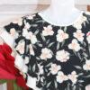 """платье красивое для девочки """"в цветах"""" черное 250521 250521 фотография №2"""
