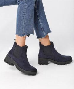ботинки для девочки подростка черные 1510191 1510191 фотография