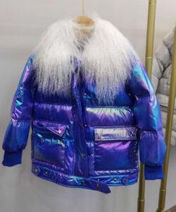 куртка на девочку перламутр 161220 161220 фотография