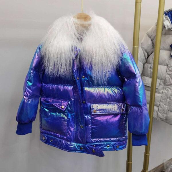 куртка на девочку евро-зима перламутр 161220 161220 фотография